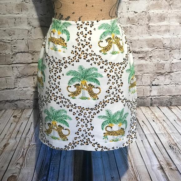 leggiadro Dresses & Skirts - EUC Leggiadro funky fabulous cheetah skirt 6